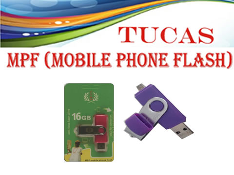 TUCAS 16GB MPF FLASH DRIVE