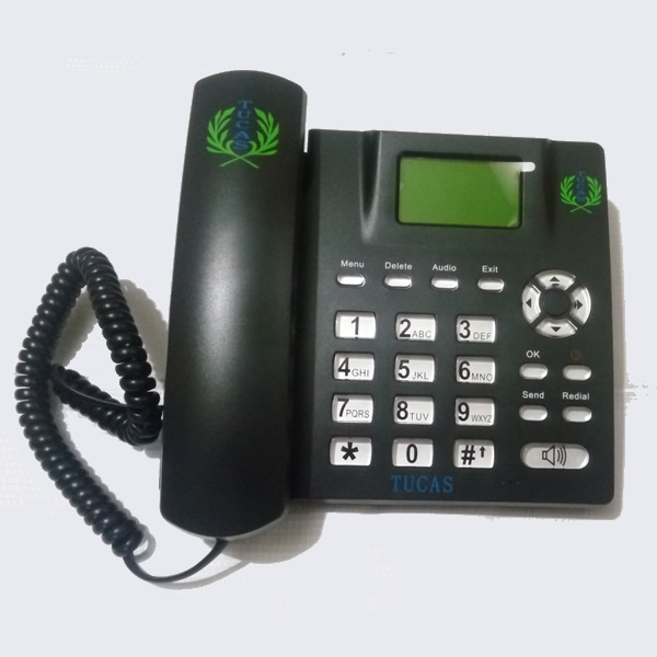 TUCAS GSM TABLE PHONE MODEL TG-20 - BLACK