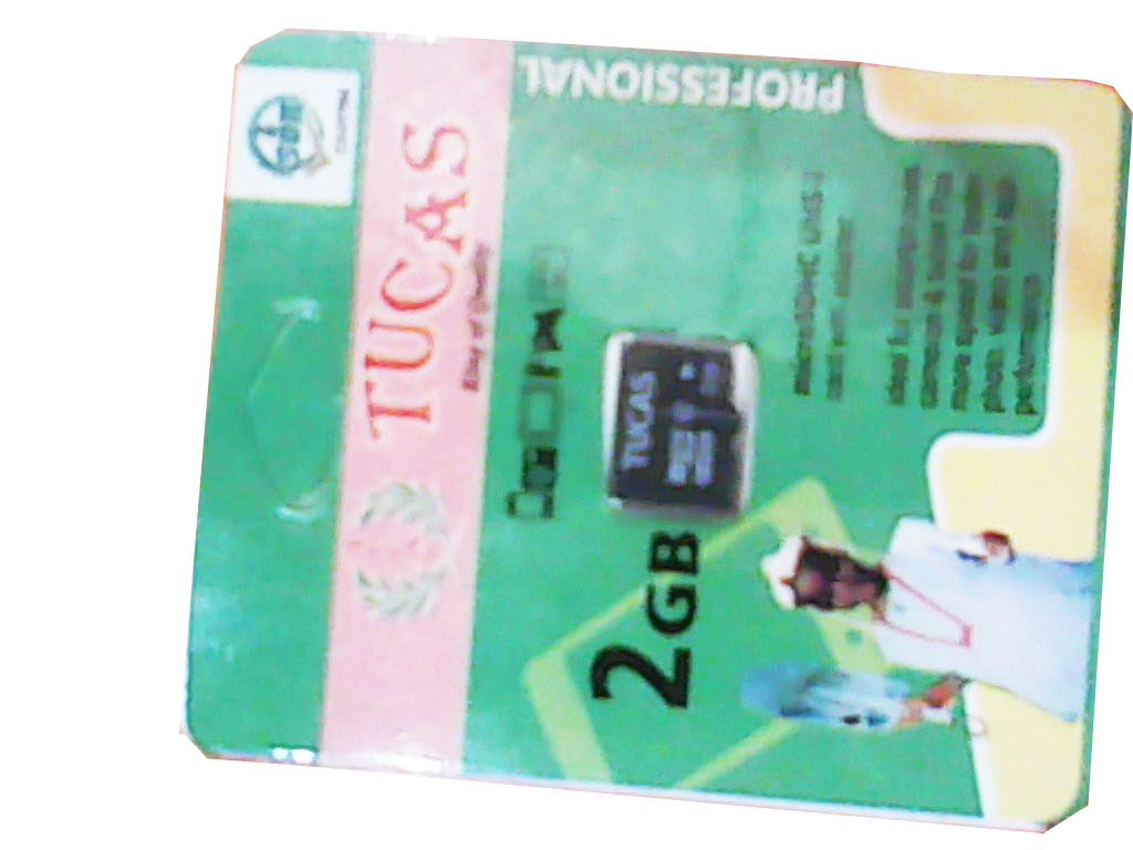 Tucas 2gb memory card .mini pack