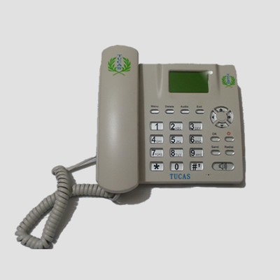 TUCAS GSM TABLE PHONE MODEL TG-20 - WHITE