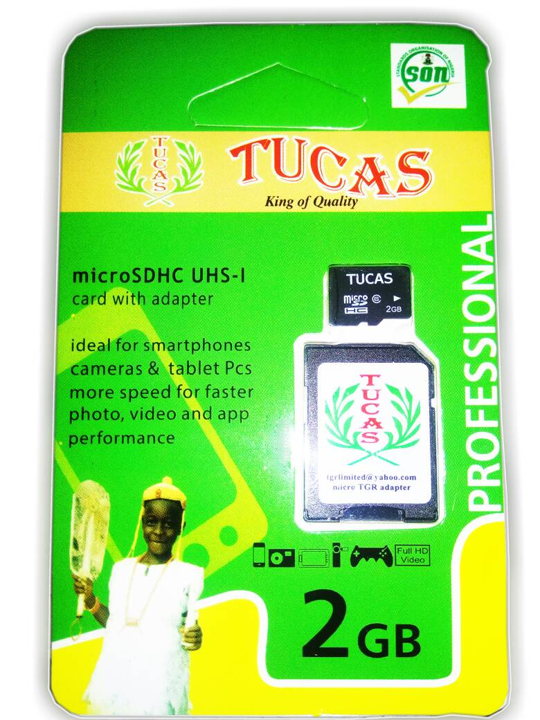 TUCAS 2GB MEMORY CARD